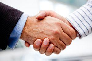 Ayemate handshake